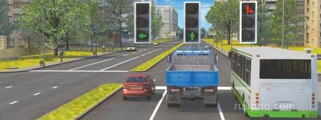 Можно ли не поворачивать на зеленую стрелку светофора, если вам нужно прямо