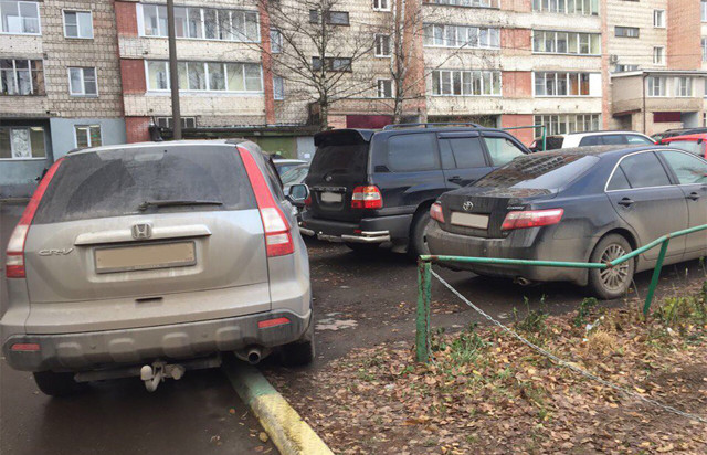 Эвакуация авто со двора дома