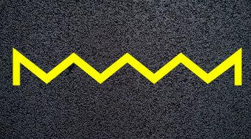 Разметка желтый зигзаг – Разметка 1.17 — Желтый зигзаг