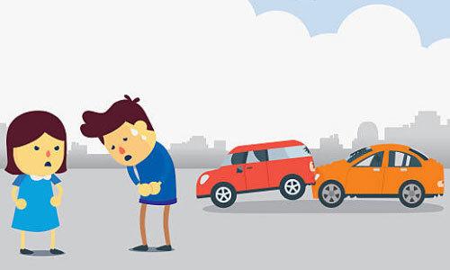 Какой порядок действий водителей при мелком ДТП