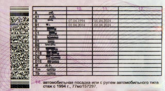 Водительское удостоверение старого образца: описание. Замена водительского удостоверения в ГИБДД