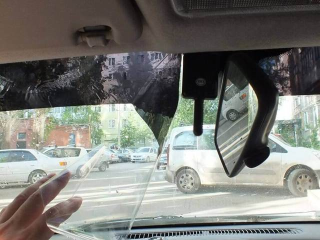 Полоса на лобовом стекле по госту 2021