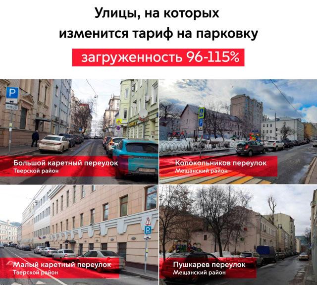 Москвичи объяснили готовность платить за парковку 380 рублей в час