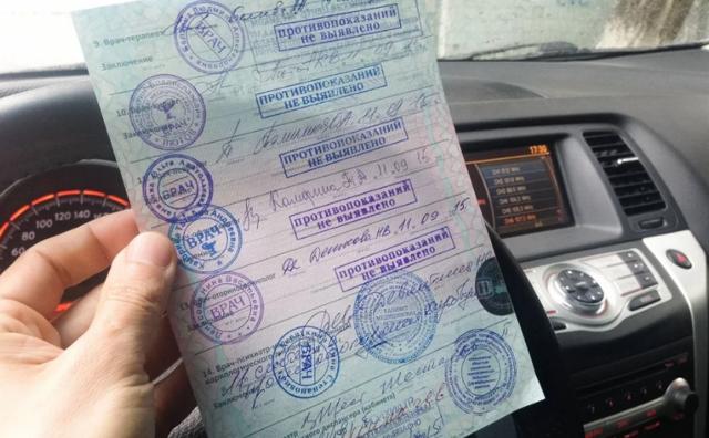 Комиссия на водительские права в 2021 году - стоимость медкомиссии и порядок прохождения