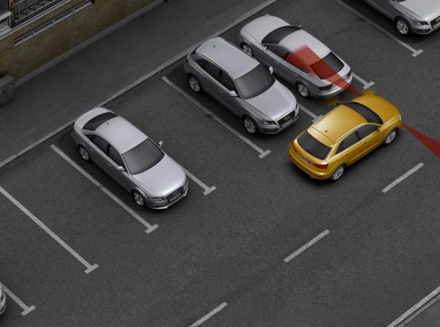 Как легко припарковаться задним ходом между автомобилями