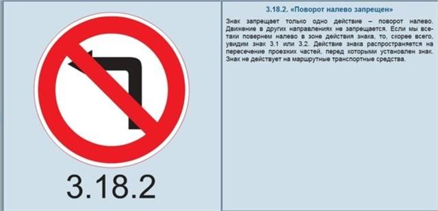 Поворот налево: как выполнить, какие знаки запрещают маневр